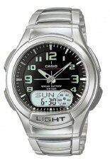 ขาย Casio Standard นาฬิกาข้อมือผู้ชาย สายสแตนเลส รุ่น Aq 180Wd 1Bvdf Silver นนทบุรี ถูก