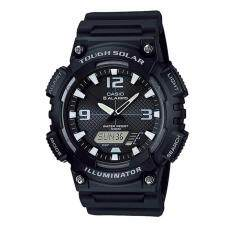ส่วนลด Casio Standard นาฬิกาข้อมือผู้ชาย สายเรซิ่น รุ่น Aq S810W 1A สีดำ Casio ใน กรุงเทพมหานคร