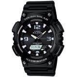ซื้อ Casio Standard นาฬิกาข้อมือผู้ชาย สีดำ สายเรซิน รุ่น Aq S810W 1Avdf ถูก ใน ไทย