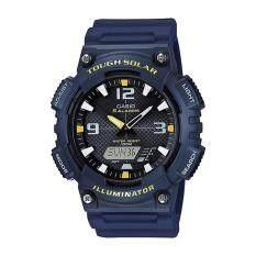 ราคา Casio Standard นาฬิกาข้อมือผู้ชาย สายเรซิ่น รุ่น Aq S810W 2A สีน้ำเงิน Casio Standard กรุงเทพมหานคร