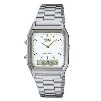 นาฬิกา รุ่น Casio นาฬิกาข้อมือ Standard รุ่น AQ230A-7D (Silver) จากร้าน MIN WATCH