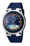 โปรโมชั่น Casio นาฬิกาข้อมือผู้ชาย สายเรซิ่น Standard รุ่น Aw82 2A สีน้ำเงิน กรุงเทพมหานคร
