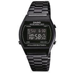 ซื้อ Casio Standard นาฬิกาข้อมือผู้หญิง สายสแตนเลส รุ่น B640Wb 1B สีดำ Casio ถูก