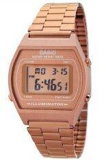 Casio Standard นาฬิกาข้อมือผู้หญิง สายแสตนเลส รุ่น B640Wc 5Aef Pink Gold ถูก