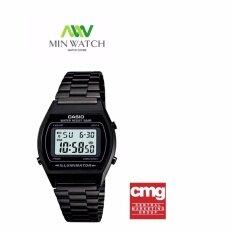 ขาย Casio Standard Digital นาฬิกาข้อมือ สายเหล็ก รุ่น B640Wb 1Adf สีดำ ของแท้100 ประกันศูนย์เซ็นทรัลCmg 1 ปี ออนไลน์