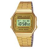 ราคา Casio Standard Digital นาฬิกาข้อมือผู้หญิง สีทอง สายสแตนเลส รุ่น A168Wg 9Wdf Casio เป็นต้นฉบับ