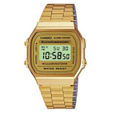 ขาย ซื้อ Casio Standard Digital นาฬิกาข้อมือผู้หญิง สีทอง สายสแตนเลส รุ่น A168Wg 9Wdf ไทย