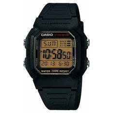 ซื้อ Casio Standard Digital นาฬิกาข้อมือ รุ่น W 800Hg 9Av Black ถูก ใน สมุทรปราการ