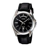 ซื้อ Casio นาฬิกาข้อมือ สุภาพบุรุษ สีดำ สายหนัง รุ่น Standard Gent Mtp 1370L 1Avdf ใหม่