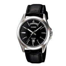 ราคา Casio นาฬิกาข้อมือ สุภาพบุรุษ สีดำ สายหนัง รุ่น Standard Gent Mtp 1370L 1Avdf Casio ออนไลน์