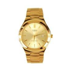ราคา Casio นาฬิกาข้อมือ Standard Gent Quartz รุ่น Mtp 1170N 9A Gold ใหม่