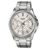 ซื้อ Casio Standard นาฬิกาข้อมือผู้ชาย สีเงิน ขาว รุ่น Gent Sport Mtp 1375D 7Avdf ออนไลน์ กรุงเทพมหานคร