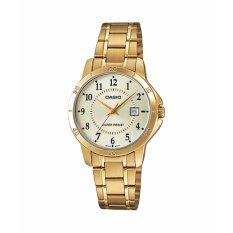 ขาย Casio Standard Lady นาฬิกาข้อมือผู้หญิง รุ่น Ltp V004G 9Budf Gold ถูก กรุงเทพมหานคร
