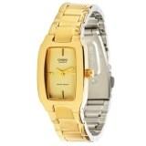 โปรโมชั่น Casio Standard Lady นาฬิกาข้อมือผู้หญิง สีทอง สายสแตนเลสสตีล รุ่น Ltp 1165N 9C ใน ไทย