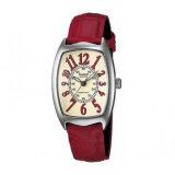 โปรโมชั่น Casio Standard นาฬิกาข้อมือผู้หญิง สายหนัง รุ่น Ltp 1208E 9B2Df สีแดง ใน พะเยา