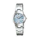 ขาย ซื้อ Casio Standard นาฬิกาข้อมือผู้หญิง สายสแตนเลส รุ่น Ltp 1241D 2Adf เรือนเหล็ก หน้าฟ้า ใน พะเยา