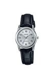 ราคา Casio Standard นาฬิกาข้อมือ สายหนัง รุ่น Ltp V001L 7Budf สีขาว Casio