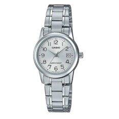 ราคา Casio Standard นาฬิกาข้อมือผู้หญิง สแตนเลสแท้ รุ่น Ltp V002D 7Budf สีเงิน ถูก