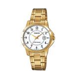 ขาย Casio Standard นาฬิกาข้อมือสำหรับผู้หญิง รุ่น Ltp V004G 7Budf สีทอง Casio Standard ใน สมุทรปราการ