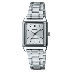 ซื้อ Casio Standard นาฬิกาข้อมือสุภาพสตรี สายสเตนเลสสตีล รุ่น Ltp V007D 7Eudf หน้าขาว เงิน ออนไลน์ พะเยา