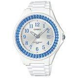 ซื้อ Casio Standard นาฬิกาข้อมือผู้หญิง สีขาว ฟ้า สายยางเรซิ่น รุ่น Lx 500H 2Bvdf ออนไลน์ ไทย