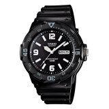 ราคา Casio Standard นาฬิกาข้อมือผู้ชาย สีดำ สายเรซิ่น รุ่น Mrw 200H 1B2Vdf ใหม่ ถูก