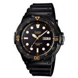 ทบทวน Casio Standard นาฬิกาข้อมือผู้ชาย สายเรซิ่น รุ่น Mrw 200H 1Evdf สีดำ Casio