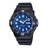 ซื้อ Casio Standard นาฬิกาข้อมือผู้ชาย สายเรซิ่น รุ่น Mrw 200H 2B2Vdf สีดำ น้ำเงิน ใน สมุทรปราการ