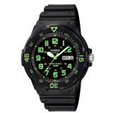 ซื้อ Casio Standard นาฬิกาข้อมือผู้ชาย สีดำ สายเรซิ่น รุ่น Mrw 200H 3Bvdf ออนไลน์ ถูก