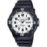 ทบทวน Casio Standard นาฬิกาข้อมือผู้ชาย สีดำ ขาว สายเรซิ่น รุ่น Mrw 200H 7Bvdf