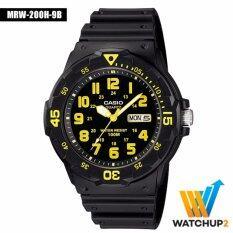 ขาย Casio Standard นาฬิกาข้อมือ รุ่น Mrw 200H 9 Black Casio Standard ผู้ค้าส่ง