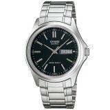โปรโมชั่น Casio Standard นาฬิกาข้อมือผู้ชาย สีดำ เงิน สายสแตนเลส รุ่น Mtp 1239D 1Adf Casio ใหม่ล่าสุด
