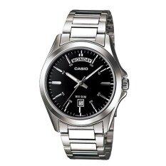 โปรโมชั่น Casio Standard นาฬิกาข้อมือสุภาพบุรุษ สายสแตนเลส รุ่น Mtp 1370D 1A1Vdf Silver