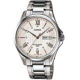 ซื้อ Casio Standard นาฬิกาข้อมือผู้ชาย สีเงิน สายสแตนเลส รุ่น Mtp 1384D 7Avdf ถูก ไทย