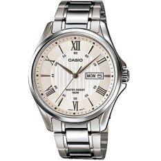 ส่วนลด Casio Standard นาฬิกาข้อมือผู้ชาย สีเงิน สายสแตนเลส รุ่น Mtp 1384D 7Avdf Casio ไทย