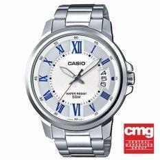 ราคา Casio Standard นาฬิกาข้อมือผู้ชาย รุ่น Mtp E130D 7Avdf ใหม่