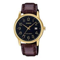 ทบทวน ที่สุด Casio Standard นาฬิกาข้อมือสุภาพบุรุษ รุ่น Mtp V002Gl 1Budf สีดำ ทอง