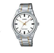 ซื้อ Casio Standard นาฬิกาข้อมือสุภาพบุรุษ รุ่น Mtp V005Sg 7Audf สีขาว Thailand
