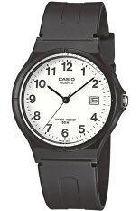 โปรโมชั่น Casio Standard นาฬิกาข้อมือผู้ชาย สายเรซิ่น รุ่น Mw 59 7Bvdf สีดำ ใน พะเยา