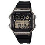 ราคา Casio Standard นาฬิกา Digital รุ่น Ae 1300Wh 8Av Black Grey ปทุมธานี