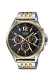 ทบทวน Casio Standard นาฬิกาข้อมือผู้ชาย สายแสตนเลส รุ่น Mtp E303Sg 1A สีเงิน ทอง