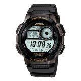 ขาย Casio Standard นาฬิกาข้อมือผู้ชาย สายเรซิ่น รุ่น Ae 1000W 1Av Black