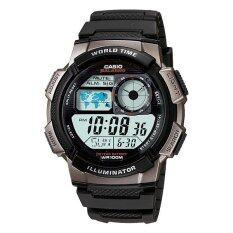 ขาย Casio Standard นาฬิกาข้อมือผู้ชาย สายเรซิน รุ่น Ae 1000W 1Bv Black ถูก ใน สงขลา