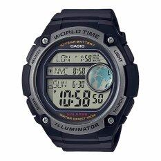 ซื้อ Casio Standard นาฬิกาข้อมือผู้ชาย สายเรซิ่น รุ่น Ae 3000W 1Av 10Th Year Battery