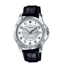 ราคา ราคาถูกที่สุด Casio Standard นาฬิกาข้อมือ ผู้ชาย สายหนังสีดำMtp V008L 7B1Udf
