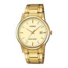 ซื้อ Casio Standard นาฬิกาข้อมือผู้ชาย สายสแตนเลส รุ่น Mtp V002G 9A ใหม่