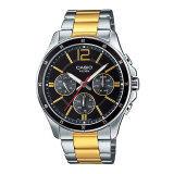 ขาย ซื้อ Casio Standard นาฬิกาข้อมือผู้ชาย สีเงิน ทอง สายสแตนเลส รุ่น Mtp 1374Sg 1Avdf กรุงเทพมหานคร