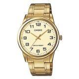 ราคา Casio Standard นาฬิกาข้อมือผู้ชาย สีทอง สายสเเตนเลส รุ่น Mtp V001G 9B ออนไลน์ กรุงเทพมหานคร