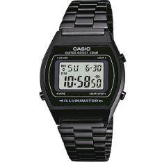 ขาย ซื้อ Casio Standard นาฬิกาข้อมือผู้หญิง สายเหล็ก รุ่น B640Wb 1A สีดำ
