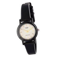 โปรโมชั่น Casio Standard นาฬิกาข้อมือ ผู้หญิง สายเรซิน รุ่น Lq 139Emv 9A สีดำ ทอง ใน Thailand